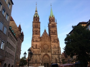 St. Lorenz Lutheran Church, Nuremberg, Germany