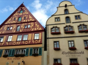 Typical Rothenburg Buildings