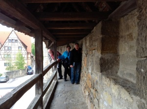Walking the Wall in Rothenburg
