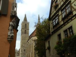 Rothenburg. Ob Der Tauber, Germany