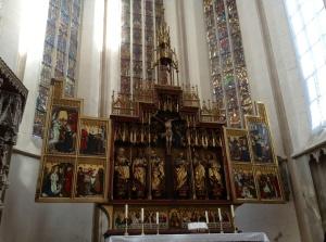 St. Jakob's Lutheran Church Altar, Rothenburg Ob Der Tauber, Germany