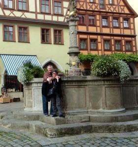 Wayne & Kathy at Rothenburg Ob Der Tauber, Germany - 09/22/2013