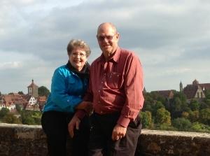 Rhonda & Allen Krahn at Rothenburg Ob Der Tauber, Germany - 09/22/2013