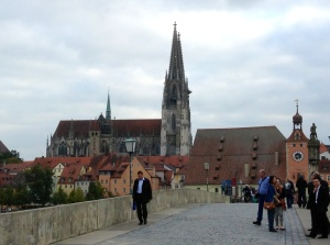 The Old Stone Bridge, Regensburg, Germany