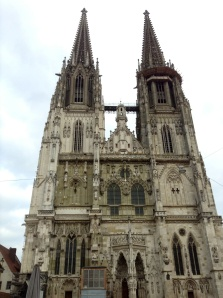 St. Peter's Cathedral in the Altstadt, Regensburg, Germany
