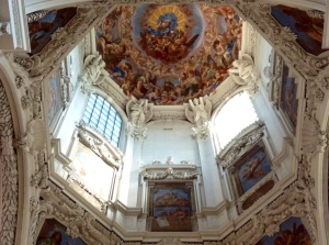 St. Stephen's Cathedral, Passau, Germany, an Italian Baroque church