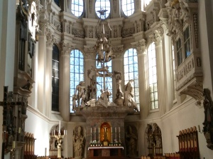 St. Stephen's Cathedral Altar, Passau, Germany