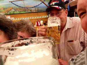 Selfie Photo at Munich Oktoberfest 2013