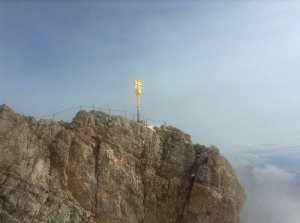 Zugspitze, the Tallest Point in Germany