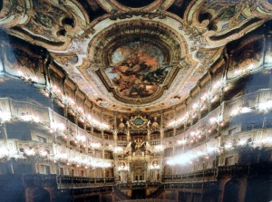 Margravial Opera House, Bayreuth, Germany, a UNESCO World Heritage Site