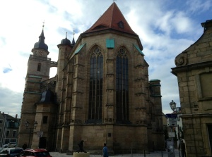 The Lutheran Church in Bayreuth