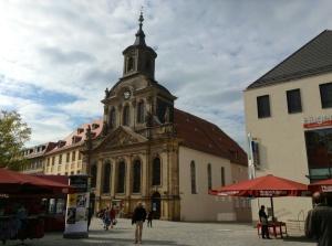 Protestant Church Exterior, Bayreuth