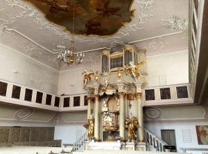 Protestant Church Interior, Bayreuth