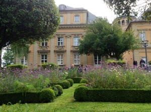 The Grounds of the Palace Church in Bayreuth, Germany