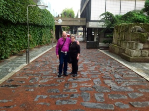 Rhonda & Allen on the Roman Road
