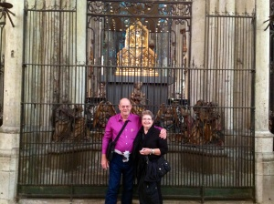 Rhonda & Allen , Cologne Cathedral, 3 Wise Men Relic