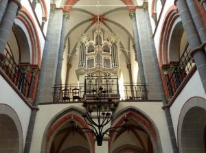 St. Peter's Lutheran Church organ Bacharach, Germany