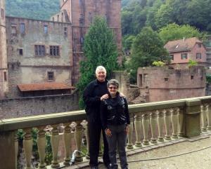 Wayne & Kathy in Heidelberg, Germany, 09/17/2013