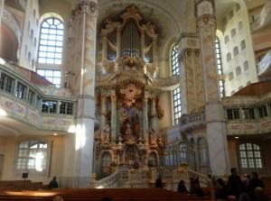 Altar of Dresden's Frauenkirche