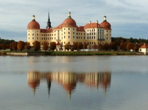 The Moritzburg Castle just outside Dresden, Germany