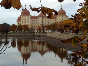 Another view of the Moritzburg Castle, Dresden, Germany