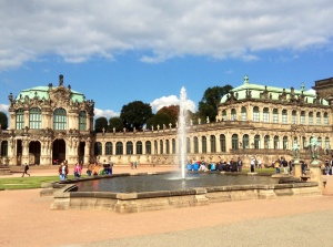 Dresden's Zwinger Palace Complex