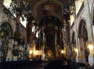 Baroque Church of the Most Holy Name of Jesus, Wroclaw, Poland - Miraculously, its interior escaped destruction during World War II.