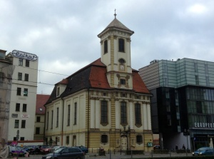 A church in Wroclaw, Poland