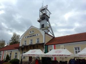 Wieliczka Salt Mine outside Krakow, Poland