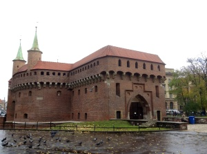 Krakow's 15th century fortress, the Barbican