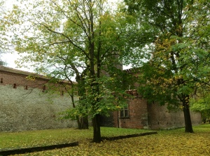 Krakow's Planty  (green space) was once a series of medieval fortifications