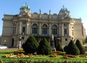 Krakow's Slowacki Theatre, completed in 1893