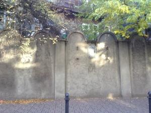 Jewish Ghetto Wall Fragments