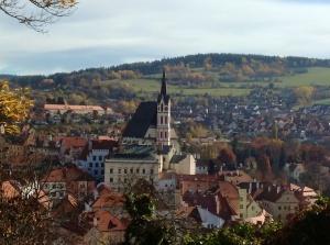 Cesky Krumlov, a UNESCO World Heritage site