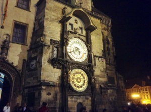 Astronomical Clock in Old Town, Prague, Czech Republic