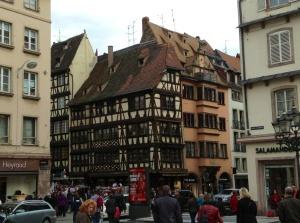 Strasbourg, France, Street Scene in La Petite France