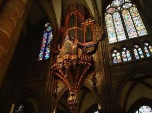 Strasbourg, France, Cathedral Pulpit