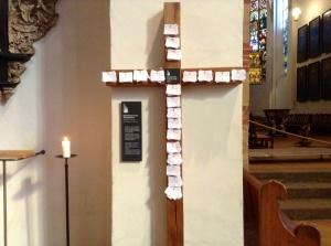 Prayer Cross, St. Thomas Church, Leipzig, Germany