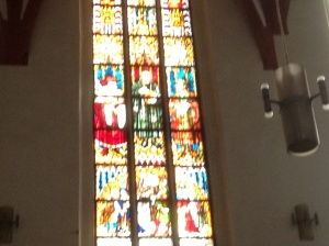 Martin Luther Window in St. Thomas Church, Leipzig, Germany