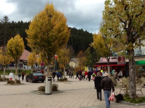 Lake village of Titisee, Germany