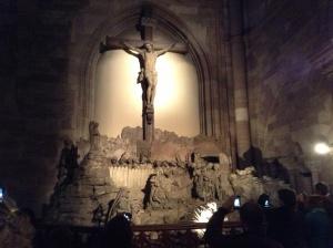 Strasbourg Cathedral - Calvary scene