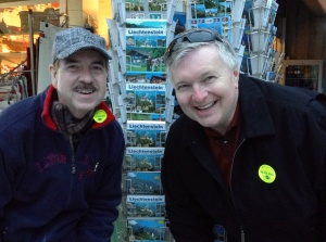 Ken and Wayne in Liechtenstein