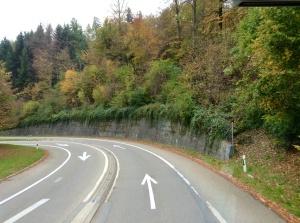 Switzerland road to Heidi Land, October 31, 2013