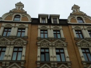 Another facade in Wittenberg, Germany