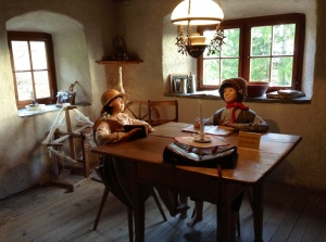 Inside Heidi's home in Switzerland