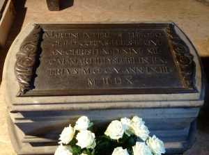 The Tomb of Martin Luther, the Castle Church, Wittenberg