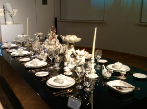 2,200 Meissen table ware pieces created for German royalty