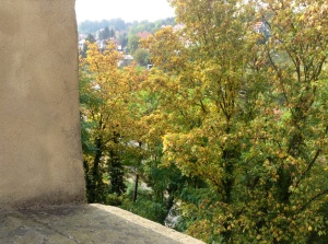 Autumn in Meissen, Germany - October 9, 2013