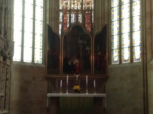 Cranach's Tryptych in Chapel of the Meissner Dom, Meissen, Germany