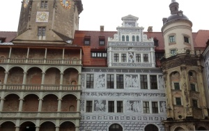 Ongoing Reconstruction at Dresden's Schloss Palace, Home of the Historic Green Vault